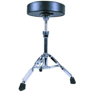 GP Percussion Double Braced Drummer?_Ts Throne with Height Adjustment