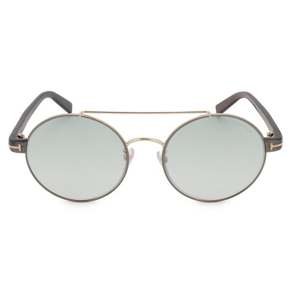 5e501d3341 Shop Tom Ford Round Sunglasses FT0486-D 33W 55 - Free Shipping Today ...