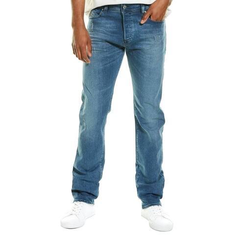 Diesel Buster Medium Wash Regular Slim Tapered Leg Jean