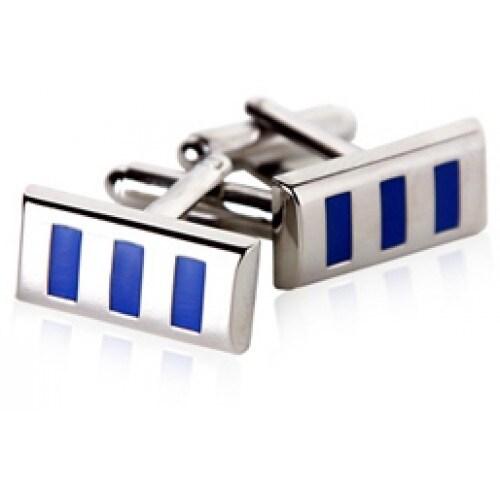 Vertical Blues Cufflinks