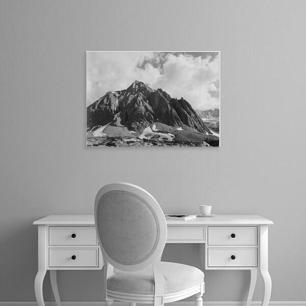 Easy Art Prints Ansel Adams's 'Center Peak, Center Basin, Kings River Canyon' Premium Canvas Art