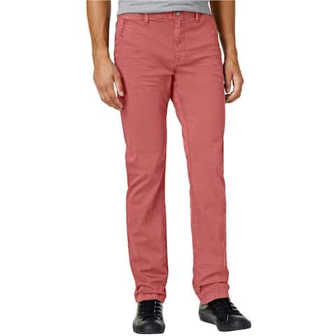 William Rast Mens Kent Straight-Leg Casual Chino Pants - 30W x 32L