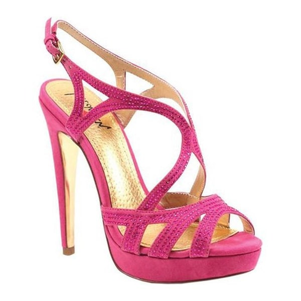 08e67fbe087 Shop Luichiny Women s Blue Spring Stiletto Sandal Pink IMI Suede - On Sale  - Free Shipping On Orders Over  45 - Overstock - 21153060