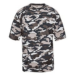 Adult Camo Short-Sleeve T-Shirt NAVY CAMOUFLAGE M