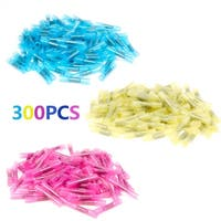 Heat Shrink Insulated  Connector Crimp Wire  Terminals Assortment 300Pcs
