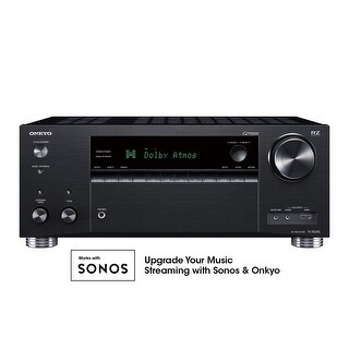 Onkyo TX-RZ630 9.2 Channel 4K Network A/V Receiver Black