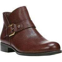 Naturalizer Women's Jarrett Ankle Boot Bridle Brown Classic Vintage Leather