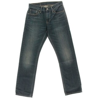 Levi's Mens 514 Overhaul Wash Slim Fit Straight Leg Jeans