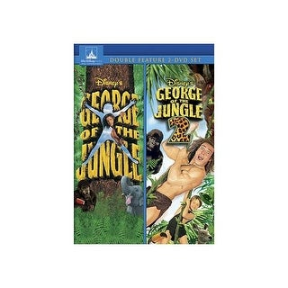 GEORGE OF THE JUNGLE/GEORGE OF THE JUNGLE 2 (DVD/2 MOVIE COLLECTION)