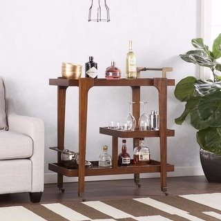 Holly & Martin Zhori Mid-century Modern Bar Cart
