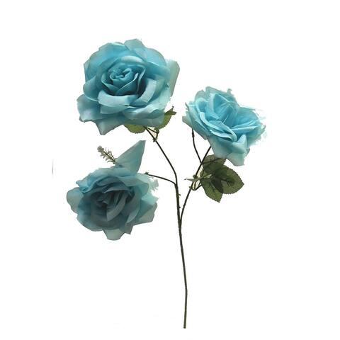 "25"" Open rose spray (Set of 12)"