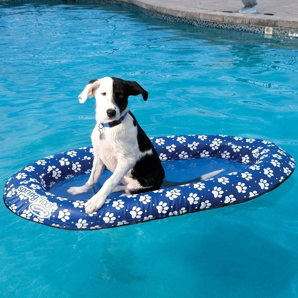 "48"" Heavy Duty Paddle Paws Spring Dog Pool Float by Generic"