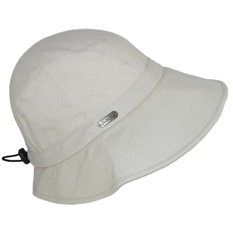 17f279e4 Sun N Sand Women's Cotton Packable Facesaver Hat with Adjustable Toggle