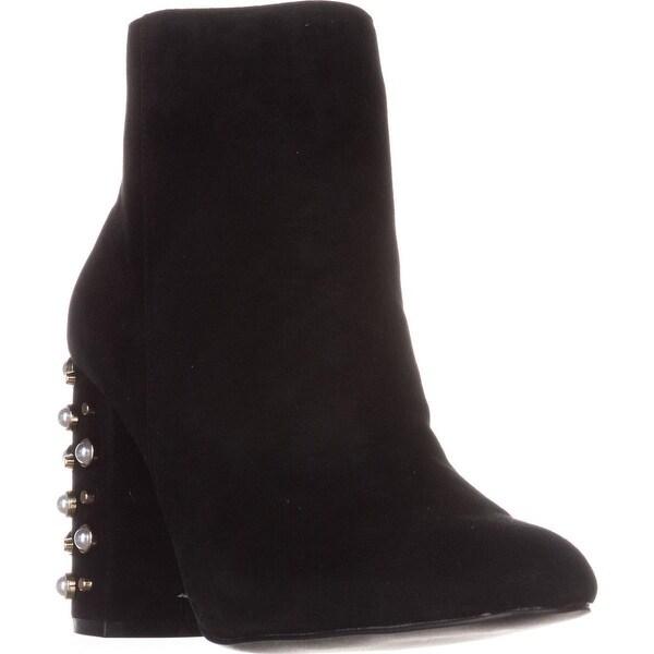Steve Madden Yvette Ankle Boots, Black Suede