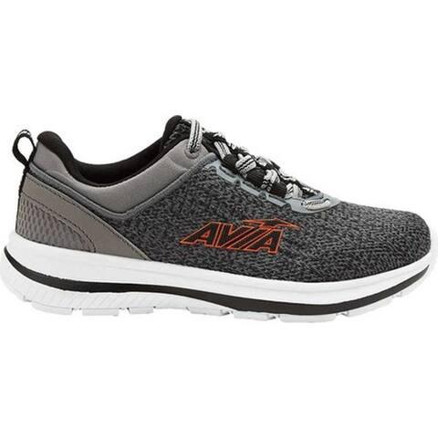 Avia Boys' Avi-Factor Sneaker Silver Filigree/Black/Flame/Micro Chip