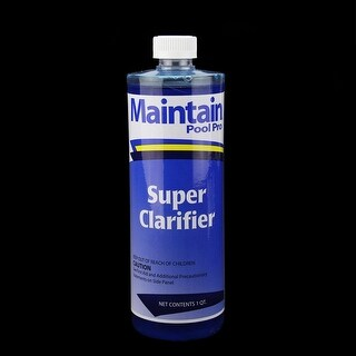 Maintain Pool Pro Super Water Clarifier 1 Quart