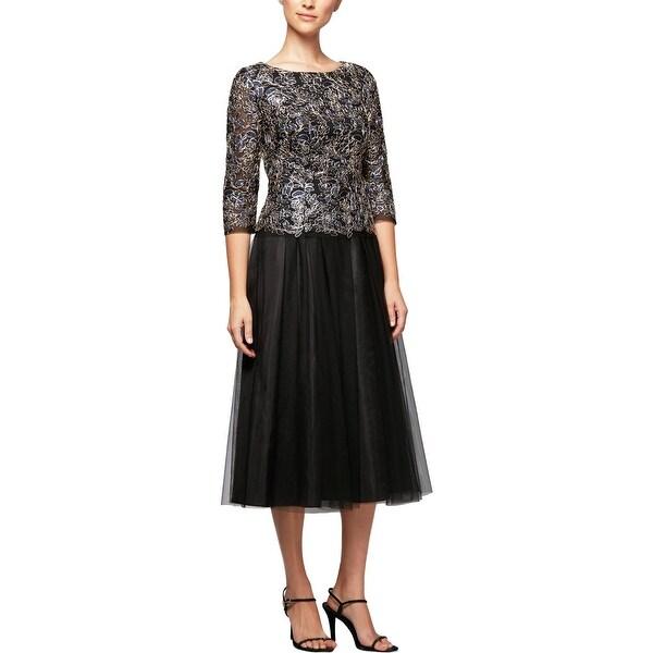 36e60ce60a Shop Alex Evenings Womens Evening Dress A-Line Special Occasion ...