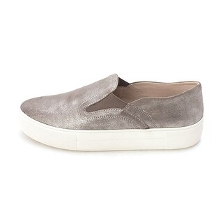Vince Camuto Womens Kyah Leather Low Top Slip On Fashion Sneakers