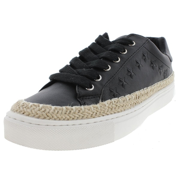 G by Guess Womens Alzine Fashion Sneakers Faux Leather Contrast Trim