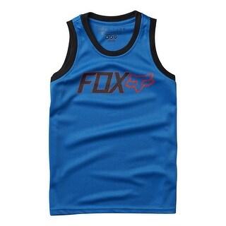 Fox Racing 2016 Youth Change Sleeveless Jersey - 16605 - Blue