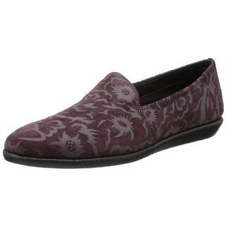 The Flexx Womens Tortellini Loafers Suede Embossed - 7 medium (b,m)