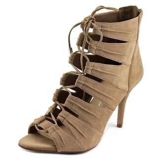 Jessica Simpson Mahiri Women  Peep-Toe Suede  Heels