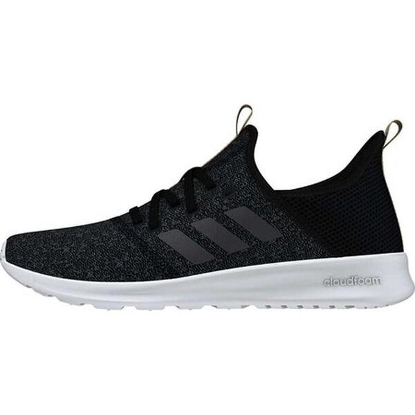 adidas cloudfoam pure black