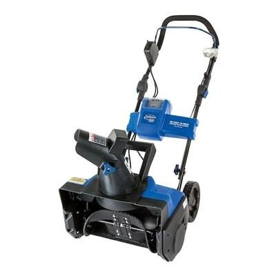 "Snow-Joe Ion18sb Cordless Single Stage Electric Snow Blower 18"" 40V, Brushless"