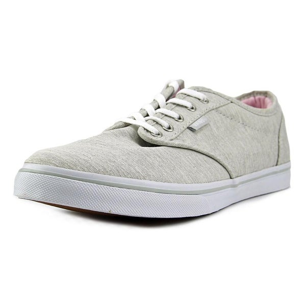 d88001ff55c12c Shop Vans Atwood Low Women Round Toe Canvas Gray Skate Shoe - Free ...