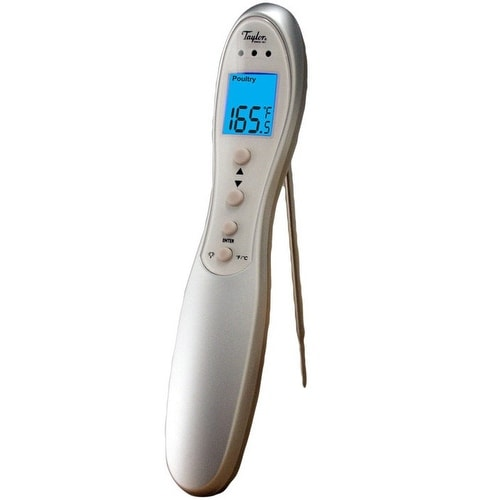 Taylor 518 Connoisseur Digital Cooking Thermometer With Folding Probe