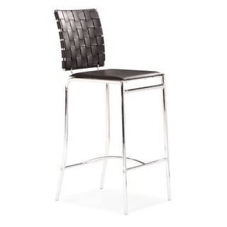 Zuo Modern Criss Cross Counter Chair Criss Cross Counter Chair (Package of 2)