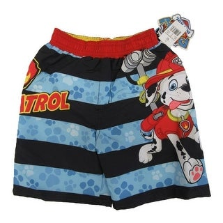 Nickelodeon Little Boys Blue Paw Patrol Swim Shorts UPF 50+