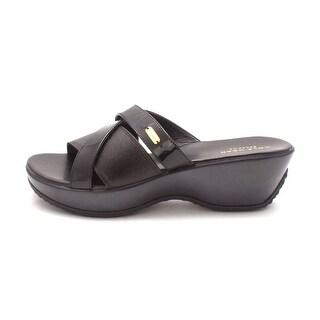 Cole Haan Womens Wandasam Open Toe Casual Platform Sandals