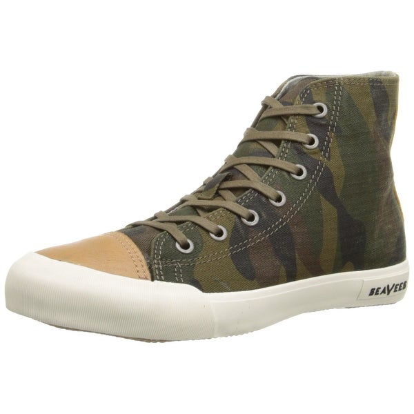 SeaVees NEW Green Women Shoe 5M 08/61 Army Issue Mojave Sneaker