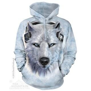 The Mountain Cotton Wolf Dj Hoodie