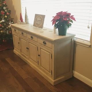 Wilson Reclaimed Wood 79-inch Sideboard by Kosas Home