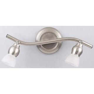 "Canarm IT1712 Lexington 2 Light 15"" Wide Bathroom Vanity Light"
