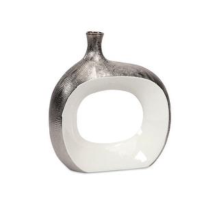 IMAX Home 87590  Riley Small Metallic Vase