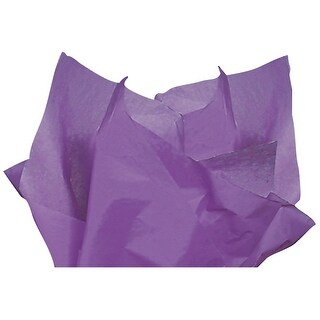 """(480 pack) Solid Lavender Tissue Paper 15 x 20"""" Sheet Half Ream Made from Post Industrial Recycled Fibers"""