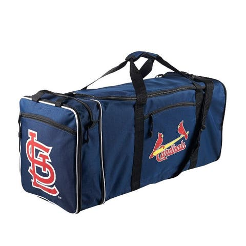 St. Louis Cardinals Duffel Bag Steal Style - 28x11x12 inches