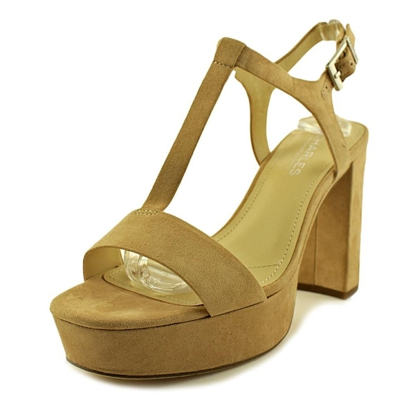 Charles By Charles David Miller Women Nude Sandals