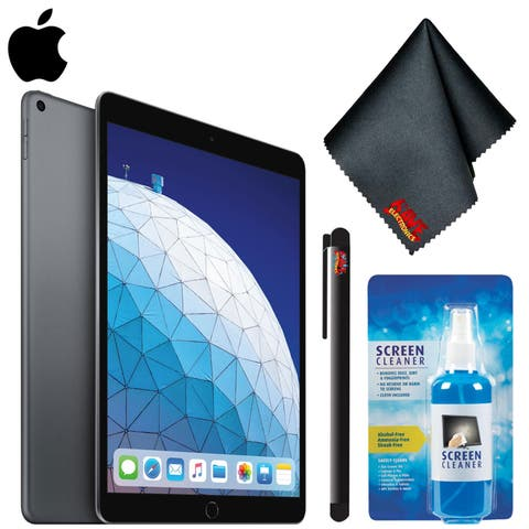"Apple 10.5"" iPad Air (Early 2019, 64GB, 256GB, Wi-Fi, Wi-Fi + Cellular) Bundle"