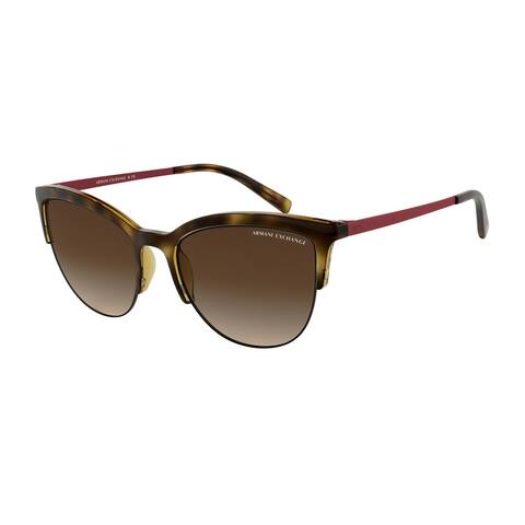 Armani Exchange AX4083S 803713 54 Havana Woman Phantos Sunglasses - Tortoise