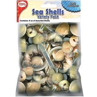 Mixed Sea Shells 8oz-Small - Small
