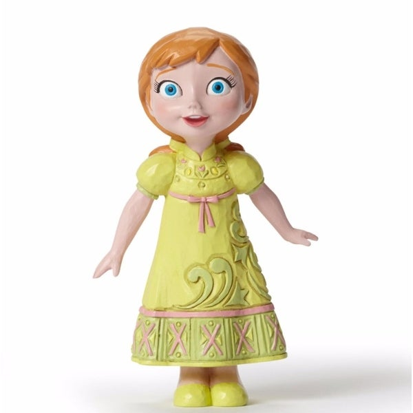 "Disney Traditions Frozen Showcase Collection ""Young Anna"" Figurine #4050765 - green"