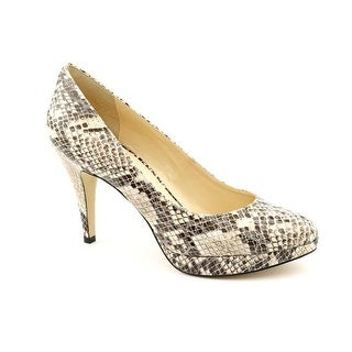 Enzo Angiolini Women's Dixy Ankle-High Fabric Pump