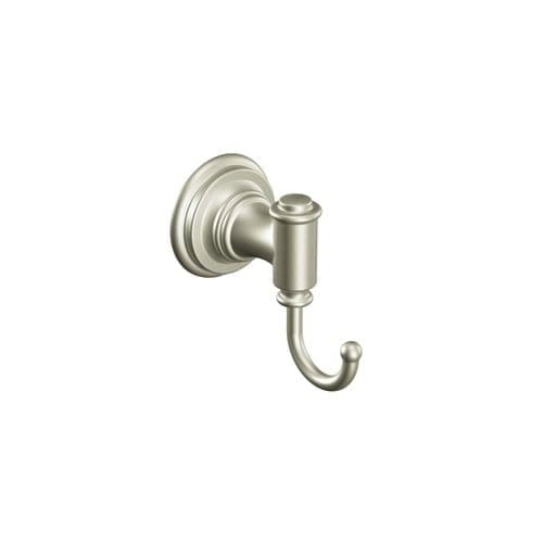 Moen DN9103 Single Robe Hook from the Ellsworth Collection - Brushed Nickel