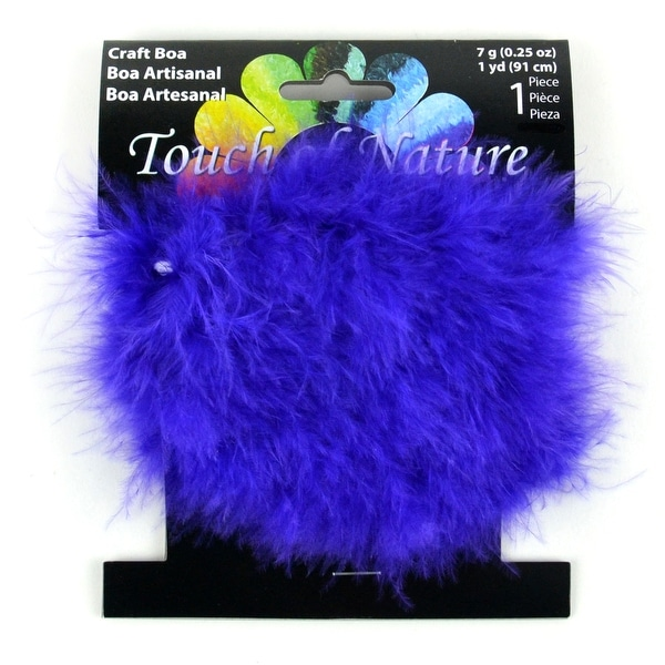 c21580c02e Shop Pack of 3 Purple Fluffy Craft Boas - 1 Yard - Free Shipping On Orders  Over $45 - Overstock - 22626605