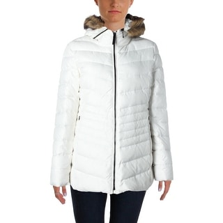 Marc New York Womens Samantha Down Quilted Parka