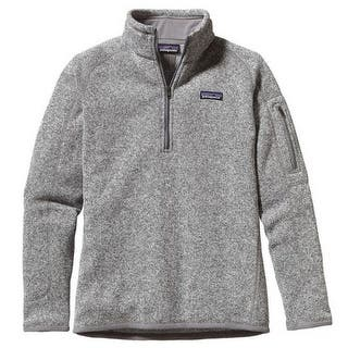 Patagonia Womens Better Sweater 1/4 Zip|https://ak1.ostkcdn.com/images/products/is/images/direct/f5642cd7a0cd33fb7f2d40455e9476fc1e6798d0/Patagonia-Womens-Better-Sweater-1-4-Zip.jpg?impolicy=medium